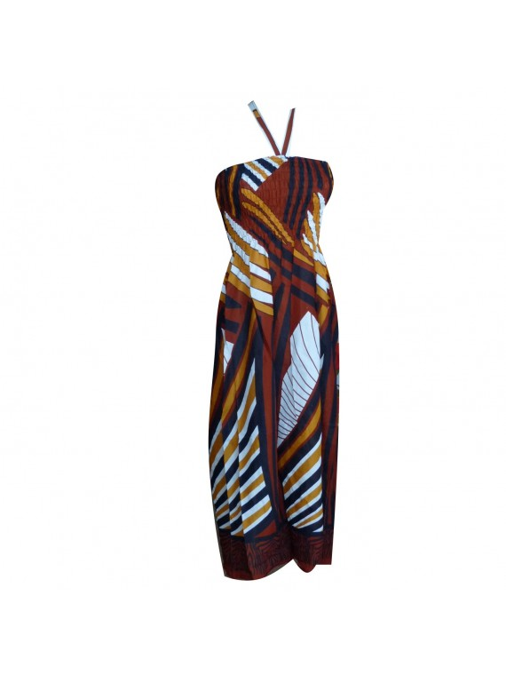 Robe tribal shell