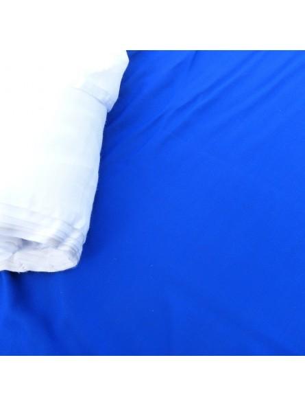 Tissu fibrane uni bleu marine