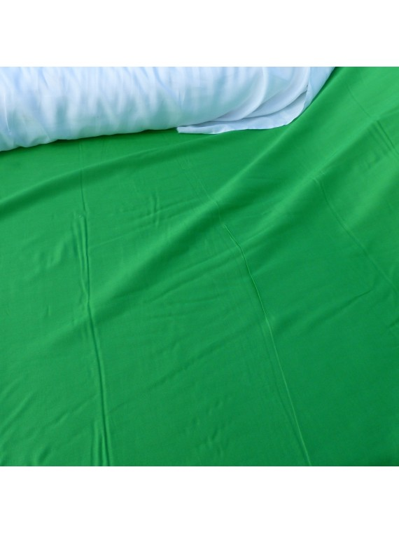 Tissu uni vert claire  fibrane