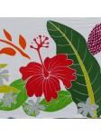 Mini paréo triple hibiscus